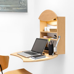 Foldable wall-desk RADIUS | Desks | Radis Furniture