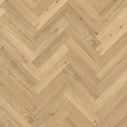 Herringbone | Oak CC Dim White | Wood flooring | Kährs