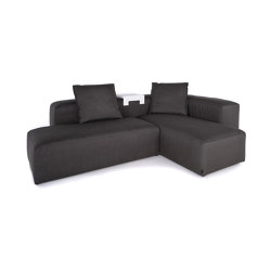 Liberty Outdoor | 2-in-1 Lounge | Sofas | IKONO