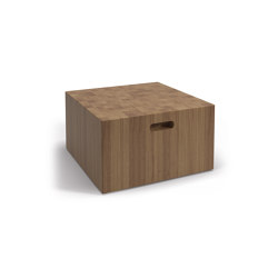 Deco Decoblock Side Table | Mesas auxiliares | Gloster Furniture GmbH
