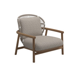 Fern Lowback White | Sessel | Gloster Furniture GmbH