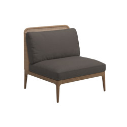 Lima Lowback Centre Unit | Sillones | Gloster Furniture GmbH