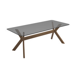 X-Frame Diningtable 220cm | Dining tables | Gloster Furniture GmbH