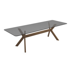 X-Frame Diningtable 280cm | Dining tables | Gloster Furniture GmbH