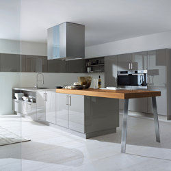 next125 bar panels with frame | Island kitchens | next125