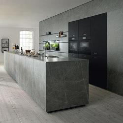 NX 950 Ceramic Marmor grigio Nachbildung | Einbauküchen | next125