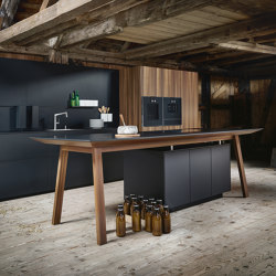 next125 cooking table onyx black fine matt AFP | Island kitchens | next125