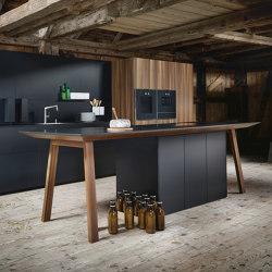 next125 Tavolo di cottura FENIX nero onice semiopaco AFP | Cucine isola | next125