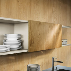 next125 Open shelf units with sliding door | Shelving | next125