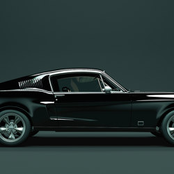 Walls By Patel 2 | Wallpaper DD113232 Mustang 1 | Wall coverings / wallpapers | Architects Paper