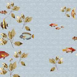 Walls By Patel 2 | Wallpaper DD114337 Brillant Fish1 | Wall coverings / wallpapers | Architects Paper