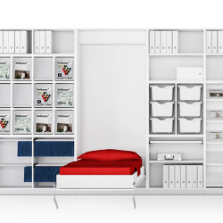 Allvia Furnishings for inside cabinets | Beds | Assmann Büromöbel