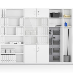 Allvia Furnishings for inside cabinets | Display cabinets | Assmann Büromöbel