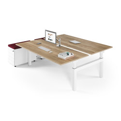 Canvaro Compact Desk | Contract tables | Assmann Büromöbel