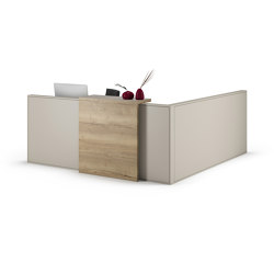 Concepta Reception desk system | Counters | Assmann Büromöbel