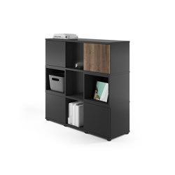 Cubas Storage system | Shelving | Assmann Büromöbel
