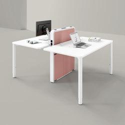Rondana  tables de bureaux | Tables collectivités | Assmann Büromöbel