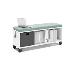 Syneo Part Roller container | Benches | Assmann Büromöbel