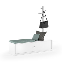 Syneo Part Garderobe | Sitzbänke | Assmann Büromöbel