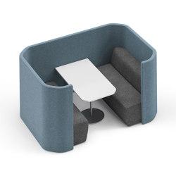 Syneo Soft Lounge | Space dividing systems | Assmann Büromöbel