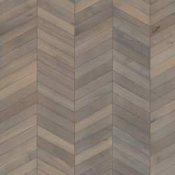 Chevron | Oak Grey | Wood flooring | Kährs