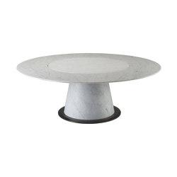 Rolando dining table with lazy susan | Tables de repas | Promemoria