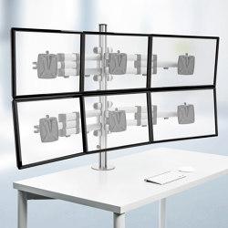 Ensemble complet | TSS Sextett Bras télescopique | Accessoires de table | Novus
