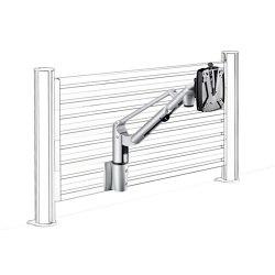 LiftTEC I SlatWall LiftTEC Arm I, with organisation wall mount | Table equipment | Novus