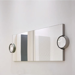 Arcadia Polifemo mirror with LED light   Bath mirrors   Ceramica Cielo