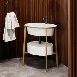 Catino Oval washbasin | Lavabos | Ceramica Cielo