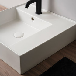 Enjoy wall hung | on top washbasin 50 | Wash basins | Ceramica Cielo