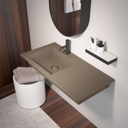 Era wall-hung washbasin 100 | Wash basins | Ceramica Cielo