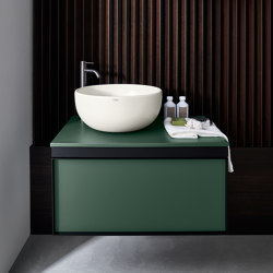 Multiplo washbasin on closet cabinet | Wash basins | Ceramica Cielo
