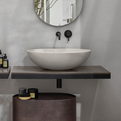 Multiplo washbasin on countertop | Wash basins | Ceramica Cielo