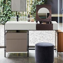 Narciso Vanity washbasin with cabinet   Wash basins   Ceramica Cielo