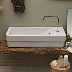 Opera washbasin 100 | Wash basins | Ceramica Cielo