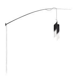 Ann Demeulemeester Rey 2 Wall Lamp Black | White | Lampade parete | Serax