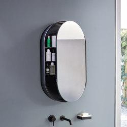 Catino mirror Oval Box | Mirror cabinets | Ceramica Cielo