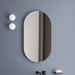 Catino mirror Oval mirror | Bath mirrors | Ceramica Cielo