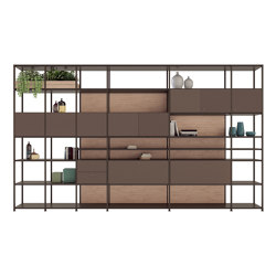 Libra | Bookcase | Wohnwände | Estel Group