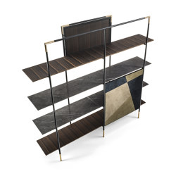 KEVIN BOOKCASE | Shelving | Frigerio