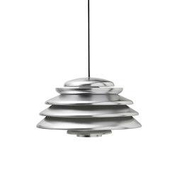 Hive Polished Aluminium   Pendant   Suspended lights   Verpan
