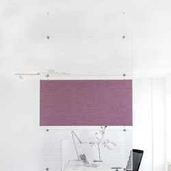 Kandela B27 | Sound absorbing suspended panels | Wacotech