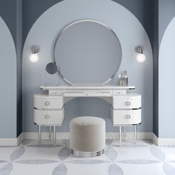 Zelda White Vanity Table | Dressing tables | Devon&Devon