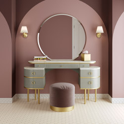 Zelda Twill Vanity Table | Dressing tables | Devon&Devon