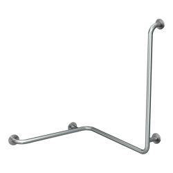 CONTINA (wall-mounted) handrail for corners - left | Grab rails | Franke Water Systems