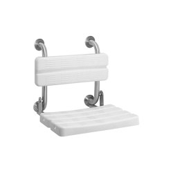 CONTINA Foldable shower seat   Shower seats   Franke Water Systems
