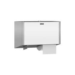EXOS. Double toilet roll holder | Portarollos | Franke Water Systems