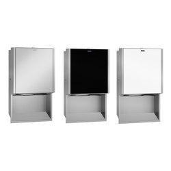 EXOS. Paper towel dispenser | Dispensadores de papel | Franke Water Systems