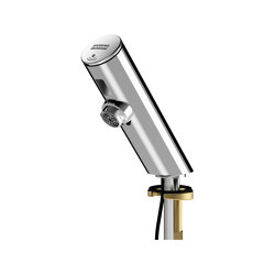 F3E Electronic pillar tap for separate power supply | Wash basin taps | Franke Water Systems